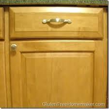 Clean Cabinet Doors Keeping A Clean Kitchen Cabinet Doors Gluten Free Homemaker