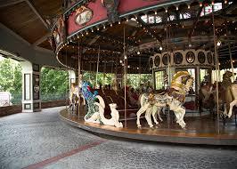 Six Flags Agawam 1909 Illions Grand Carousel Six Flags New England