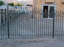 spear top rail fence the iron anvil salt lake city utah