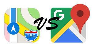 googlwe maps apple maps vs maps comparison review macworld uk