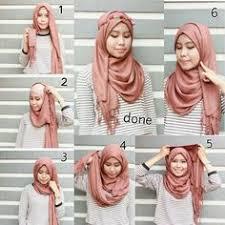 tutorial jilbab jilbab hijab tutorials cara pakai shawl pinterest tutorials hijabs