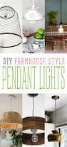 Farmhouse Pendant Lights by Diy Farmhouse Style Pendant Lights The Cottage Market