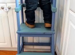 little chef stool bottom kitchen helper kid step stool toddler