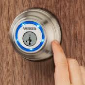 Interior Keyless Door Locks Weiser Electronic Door Locks Pole Trim Supplies Ltd