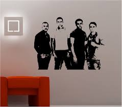 army jeep soldier wall art sticker bedroom kids childrens decal stunning jls band image wall art sticker vinyl lounge bedroom kids