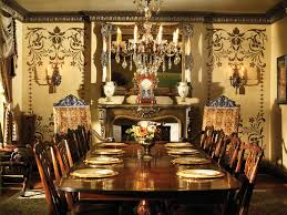 Old World Dining Room by Robbie Calvo Old World Artisan