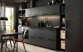 ikea black kitchen cupboards ikea grey kitchen cabinets etexlasto kitchen ideas