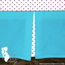 Preppy Crib Bedding Decoration Poppy Crib Bedding Lilly Blue Pink Preppy Baby