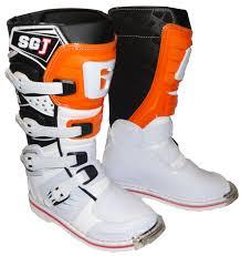motocross gear boots gaerne sg j youth boots white orange motocross equipment