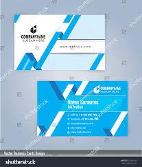 modern creative clean business card design stock vector 531061930