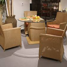 photo of indoor wicker dining chairs