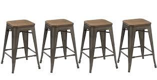 bar stools restaurant supply amazon com btexpert 24 inch industrial metal vintage antique copper