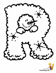 lumpy snowman christmas letters free alphabet printables