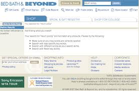 Bed Bath Return Policy Return Policy Retail In The Eyes Of The Everyday Customer