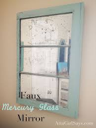 Krylon Mirror Glass Spray Paint - diy mercury glass mirror hometalk