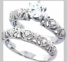 weddings rings cheap images Wedding rings for hereap silver used sale big diamond sets him and jpg
