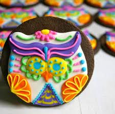 Halloween Sugar Cookie Recipes by Sugar Skull Cookies Recipe Food Next Recipes