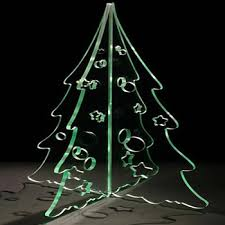 custom clear acrylic laser cut tree perspex