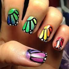 32 best uñas mariposa images on pinterest make up butterfly