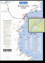 Squaw Trail Map North Lake Tahoe U0026 Truckee Bike Trail Map Squaw Bike Rentals