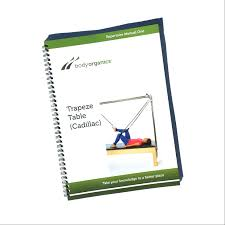 trapeze table cadillac pilates manual body organics