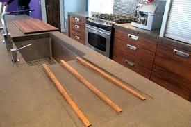 comptoir ciment cuisine tendances nbsp quand le brut se fait chic maison le soleil