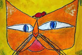 pete the cat halloween ms allen u0027s art room klee u0027s cat and bird