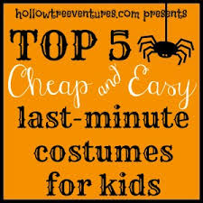 Cheap Boys Halloween Costumes 5 Cheap Easy Halloween Costumes Kids