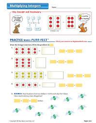 11 best integers middle images on pinterest worksheets