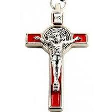 st benedict crucifix benedict crucifix st benedict cross 3 7 5