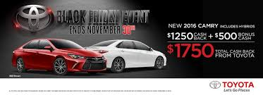 car sales black friday black friday sales event mcdonough toyota blog