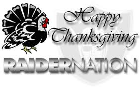 raiderlegend a raiders thanksgiving