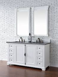 60 Inch Bathroom Vanities by James Martin Providence Double 60 Inch Transitional Bathroom