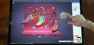windows 10 tip how to use surface dial with paint 3d windows