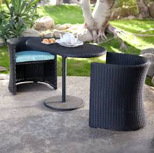 Small Outdoor Table With Umbrella Hole by Patio Ideas Patio Grey Oval Modern Rattan Patio Furniture Small