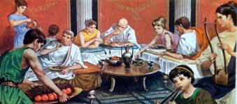 banchetti antica roma un banchetto romano con l artolaganus il pane delle feste