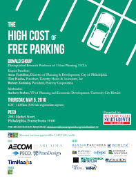 high cost of free parking event delaware valley smart growth