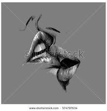 kiss sketch vector stock vector 574797826 shutterstock