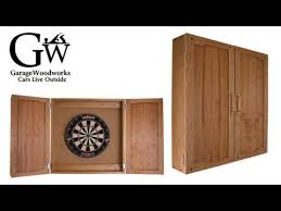 Dart Board Cabinet Plans Dartboard Cabinet Part 3 Youtube