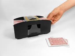 Play Pinochle Double Deck by Automatic 2 Deck Playing Card Shuffler Shuffles 1 To 2 Decks