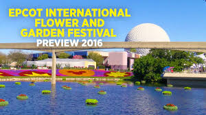 epcot international flower and garden festival preview 2016 youtube