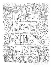 inspirational coloring pages for adults pertaining to cozy cool