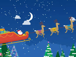 use s santa tracker to follow his trip insider