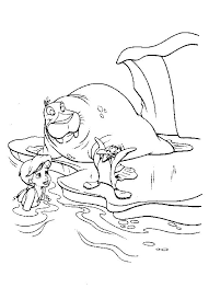 awesome mermaid 2 coloring pages free