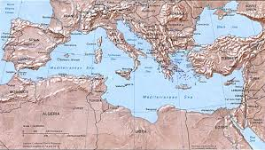 Google Map Europe by Google Maps Europe Map Of Mediterranean Islands