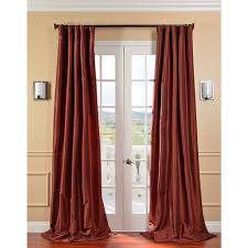 15 best ideas orange silk curtains ideas