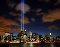 9 11 Memorial Lights Every Year On 9 11 Two Beams Of Light Are Lit Up In New York To