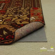 mohawk home area rugs mohawk home 8 ft x 10 ft supreme dual surface felted rug pad