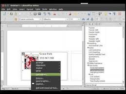 Make A Business Card How To Create A Business Card With Libreoffice In Ubuntu Youtube