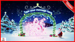 happy new year 2017 santa holidays magic